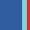 Dark Blue/Aqua/Red