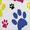 Pawprints/Blue Buckle