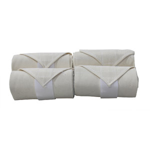 Hook-and-Loop Flannel Stable Bandages