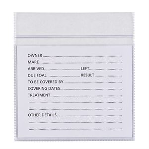 Stubbs Stallmate Replacement Card & Pouch