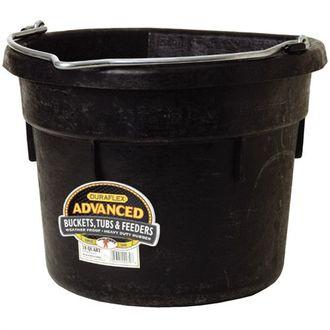 Rubber Flat-Back Bucket