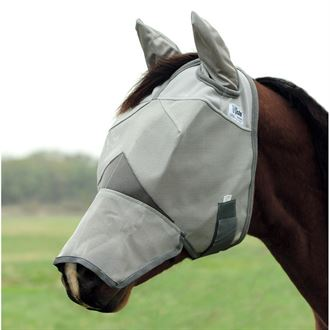 Cashel® Cool Crusader™ Long Nose Fly Mask with Ears