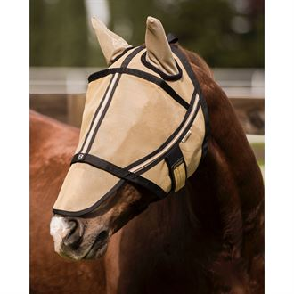 Noble Equestrian™Guardsman™ Fly Mask with Ears