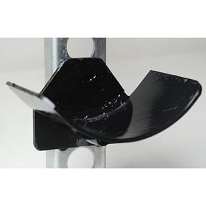 Dover Saddlery® Black Pinless Cups