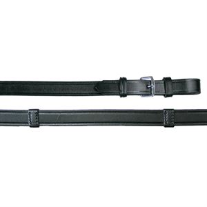 Tory Leather Extra Long Hand Stop Reins with Buckle Ends