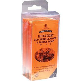 Belvoir® Wipe & Groom Leather Cleaner Wipes