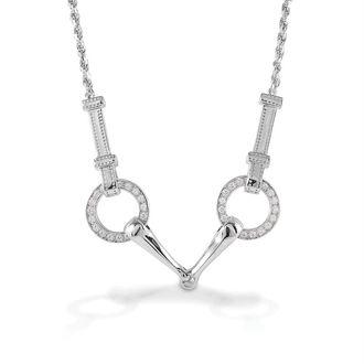 Kelly Herd Snaffle Bit Necklace