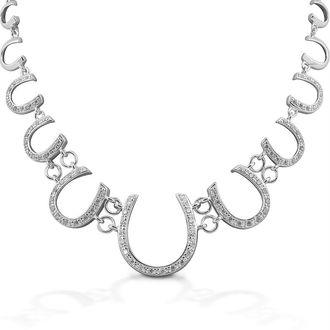 Kelly Herd Multi Horseshoe Necklace