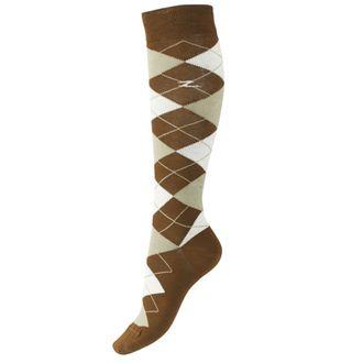 Horze Ladies' Alana Checked Summer Socks