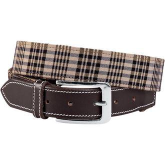 Baker® Ladies' Classic Plaid Belt