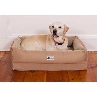 3 Dog Pet Supply EZ Wash Fleece Lounger Dog Bed
