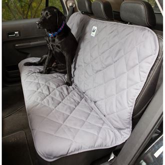 3 Dog Pet Supply No-Slip Quilted Back Seat Protector