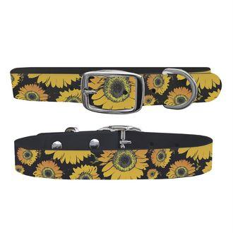 C4 Floral Medium Dog Collar