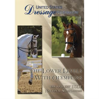 The Lower Levels with Olympians DVD USDF Symposiums 1996 & 1997