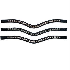 Otto Schumacher Square Crystal Browband