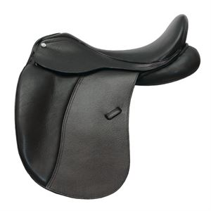 Tempi II Dressage Saddle with Patent Leather Cantle