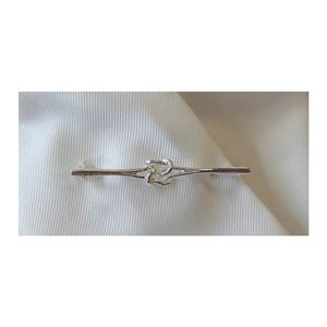 Equetech Silver Knot Stock Pin