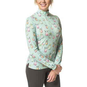 Kastel Denmark Ladies' Cocktail Print Long Sleeve Shirt