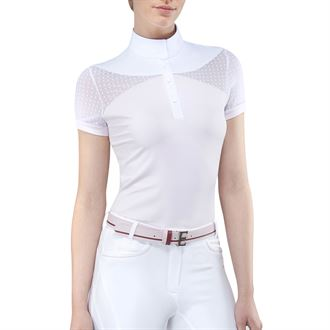 Equiline Ladies' Eden Show Shirt with Dots