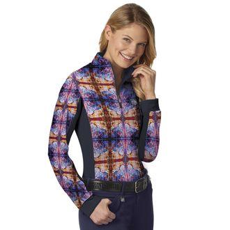 Romfh® Ladies' Artist Print Long Sleeve Sun Shirt