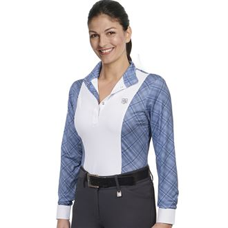 Romfh® Ladies' Schuyler Plaid Long Sleeve Show Shirt