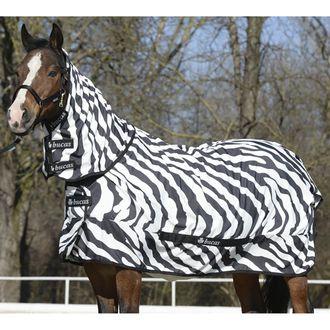 Bucas Zebra Sweet Itch with Full Neck