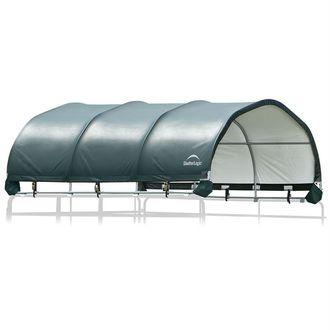 """ShelterLogic® 12 x 12 Corral Shelter - Powder-Coated 1 3/8"""" Steel Frame"""