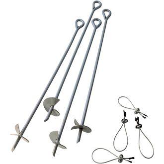 ShelterLogic® ShelterAuger Earth Anchors Kit