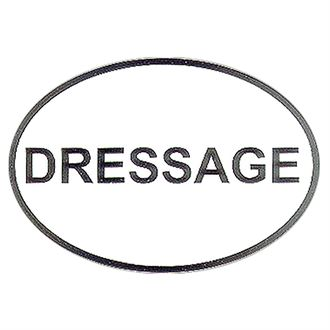Dressage Decal
