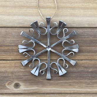 The Bent Nail Classic Snowflake Ornament