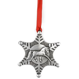 Loriece Snowflake Dressage Ornament