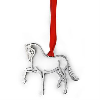 Loriece Dressage Horse Swarovski® Crystal Ornament