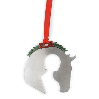Loriece English Rider Silhouette Ornament