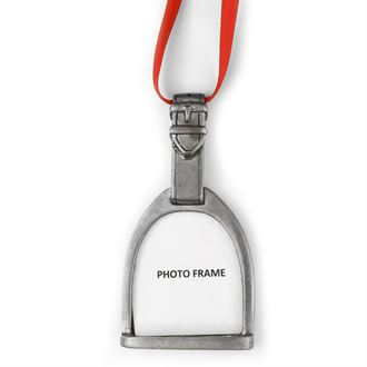 Loriece Stirrup Photo Ornament
