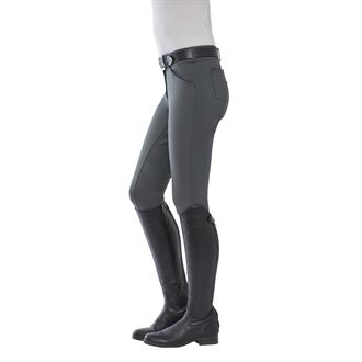 Dover Saddlery® Ladies' Winter Wellesley Silicone Full-Seat Breech