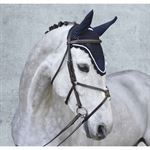 Equine Couture™ Fly Bonnet with Silver Rope