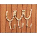 Dover Saddlery® Triple Horseshoe Hook