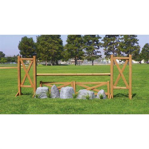 Burlingham Sports Cedar Split Rail Fence