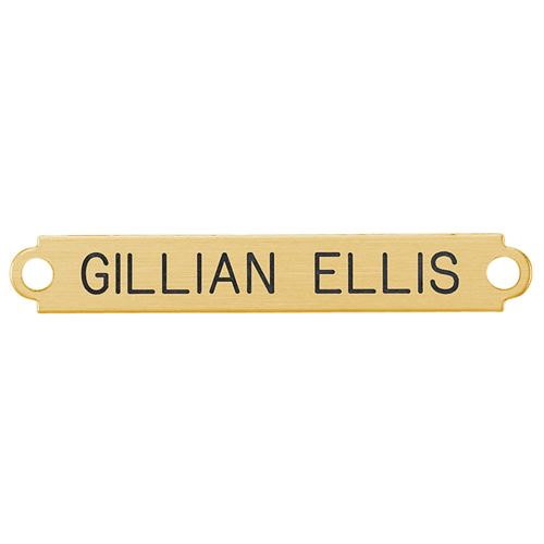 Fancy Martingale Nameplate