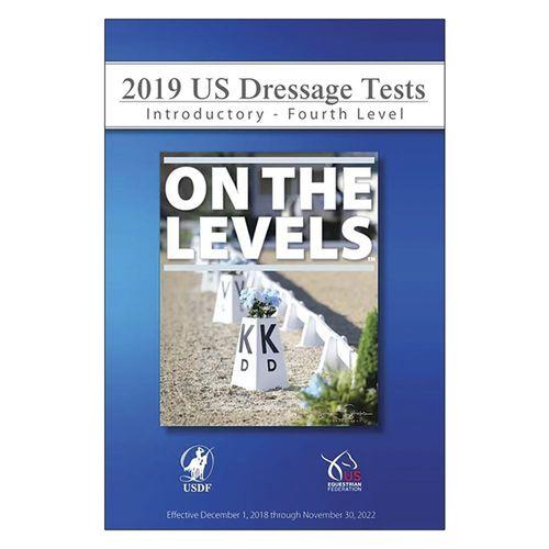 USDF 2019 On The Levels Dressage Tests DVD