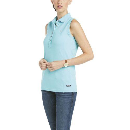 Ariat® Ladies' Prix Sleeveless Polo Shirt 2.0