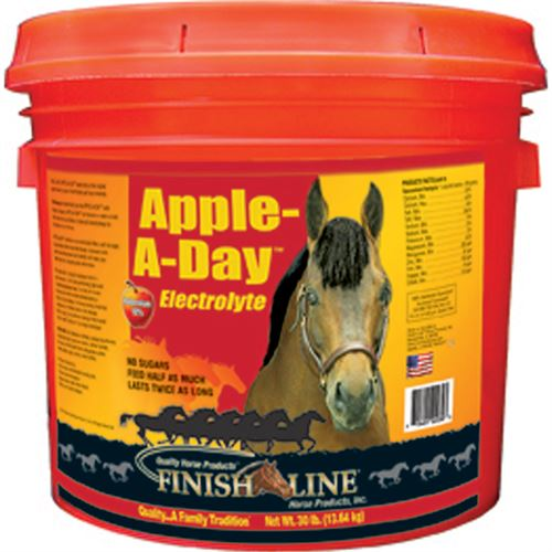 Finish Line® Apple A Day™ Electrolyte- 30 lb