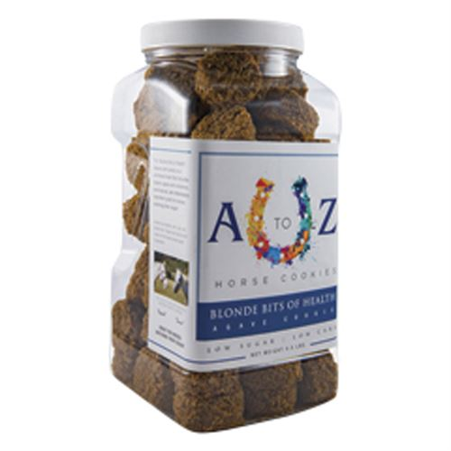 A to Z Horse Cookies Blonde Bits of Health