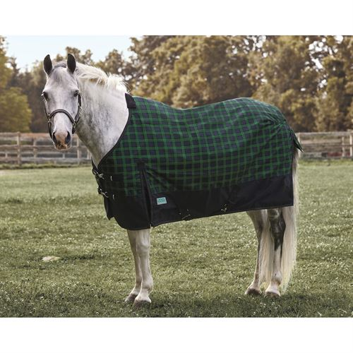 Rider's Internationalby Dover Saddlery® Pony Foxdale Plaid Turnout Sheet