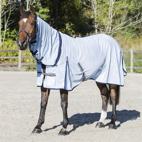 Horze Freja Fly Combo Sheet with Neck Cover