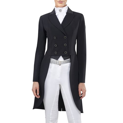 Equiline Ladies' Galilee Tail Coat with Glitter